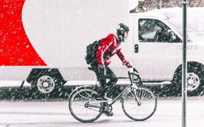 Cum ne pregatim pentru mersul cu bicicleta iarna